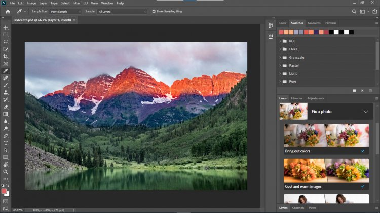 Cool Tip for Adobe Photoshop Beginners.