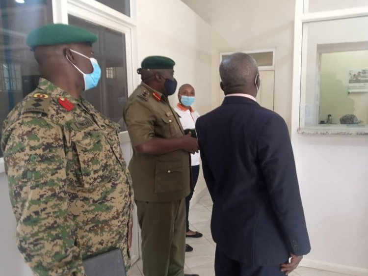 The newly opened UPDF Wazalendo cash branch in Mubende to bring financial services closer to members.