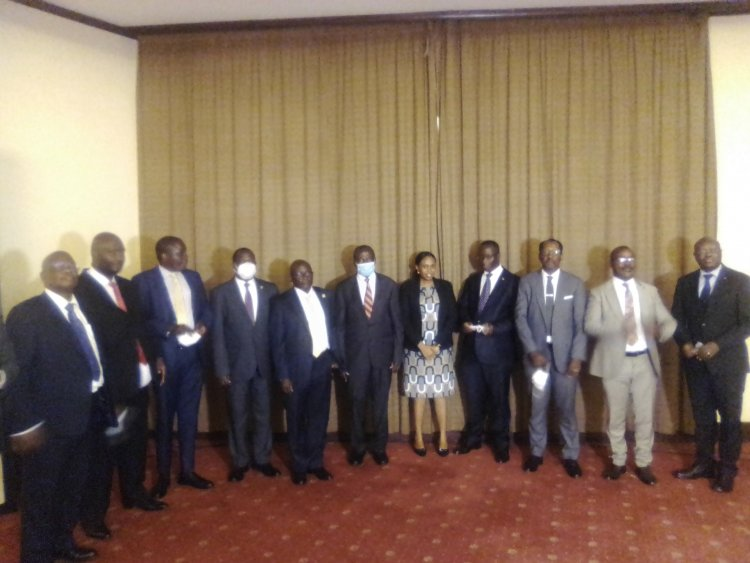 New NSSF Board inaugurated for a 3 year tenure.